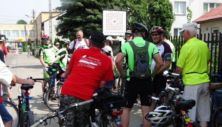 Krwiodawcy na rowerach