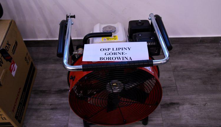 OSP otrzymało sprzęt za 50 tys. zł