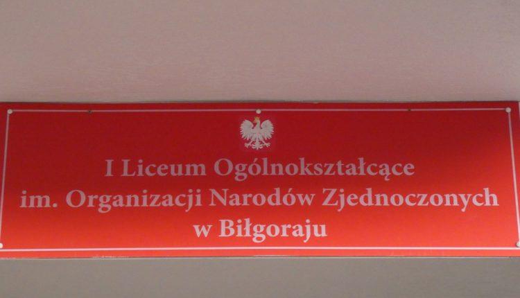I Liceum Ogólnokształcące im. ONZ (2)