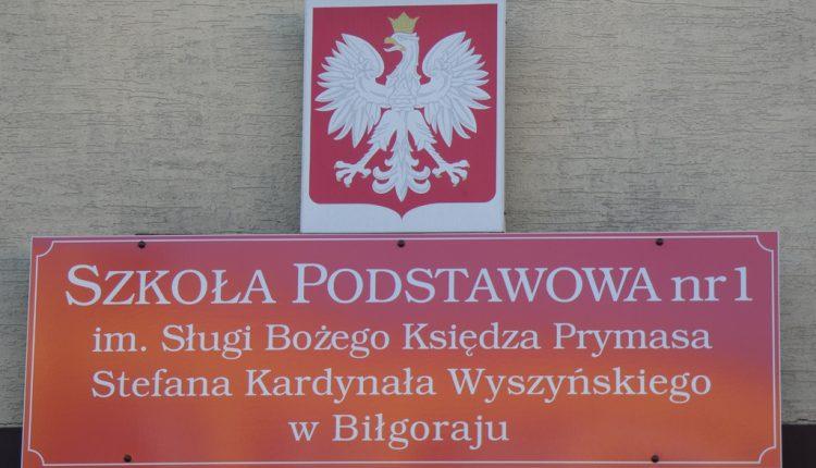 Szkoła Podstawowa nr 1 im. Sługi Bożego Księdza Prymasa Stefana Kardynała Wyszyńskiego w Biłgoraju (5)