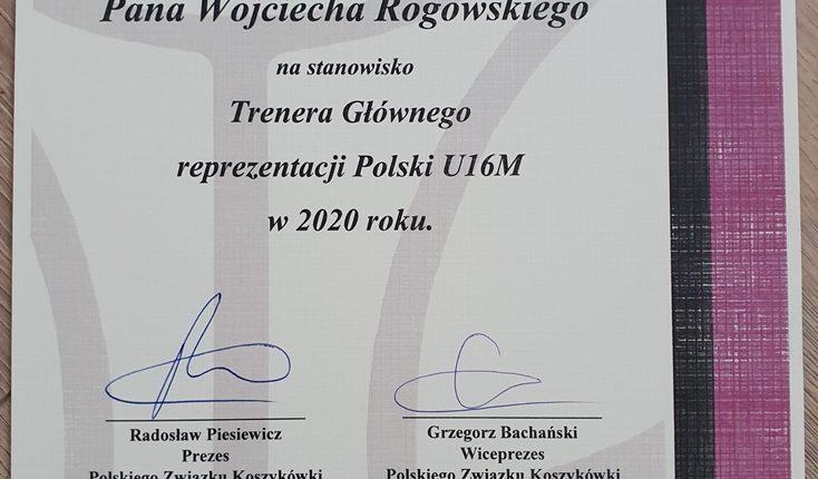 Biłgorajanin trenerem Reprezentacji Polski Koszykarzy