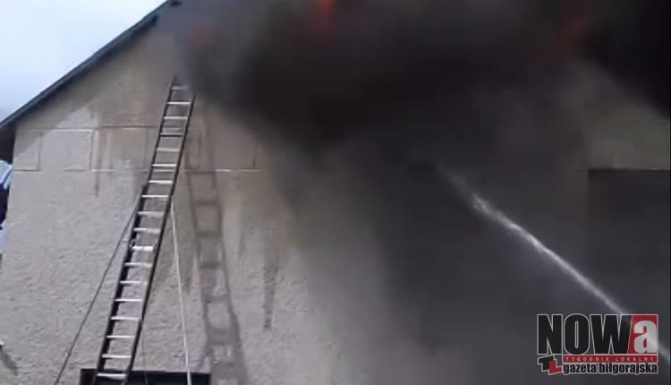 Pożar w Potoku Górnym (1 of 6)