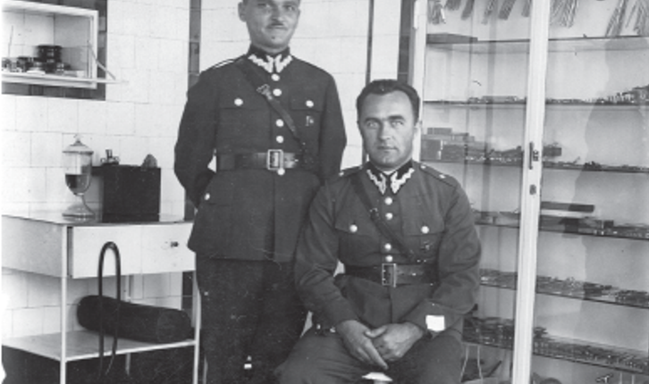 Dr ppor. Stanisław Pojasek Przemyśl 1933