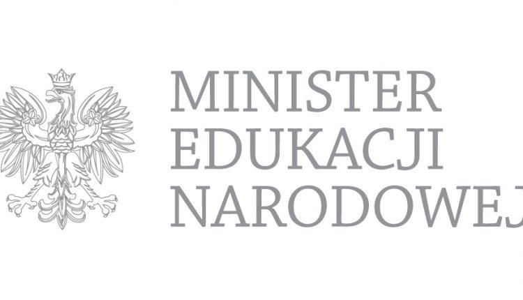 logo ministra edukacji