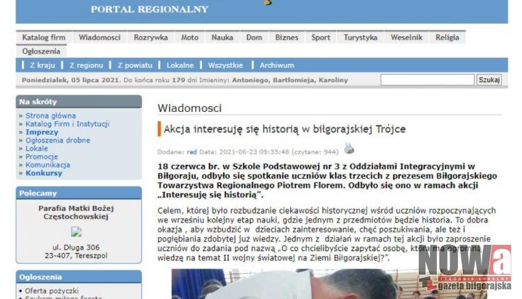 Strona internetowa LubelskieOnline.pl