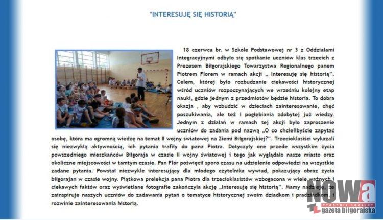Strona internetowa www.mzsbilgoraj.comwydarzenia.html