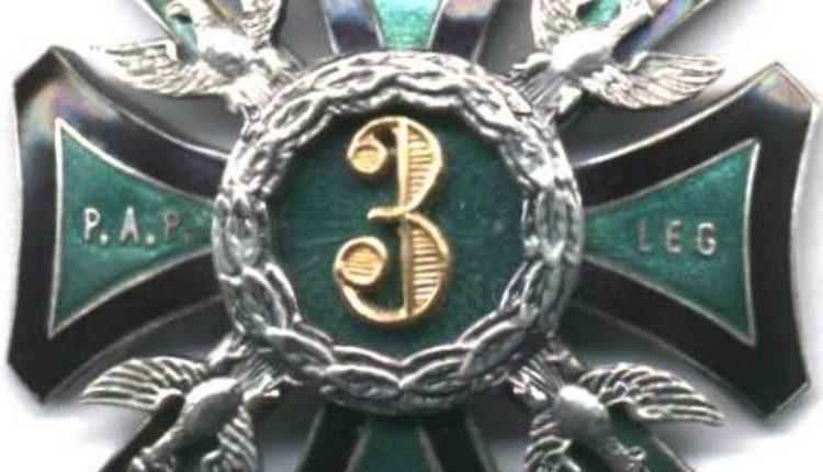 6. Odznaka 3 pap Leg. z lat 1918-1928