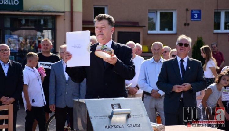 kapsuła czasu Biłgoraj 443 rocznica